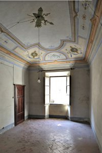 salon before restoration